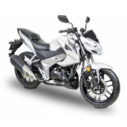 moto Visar 125i steel grey